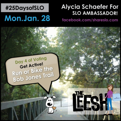 25DaysofSLO - Bike Bob Jones Trail