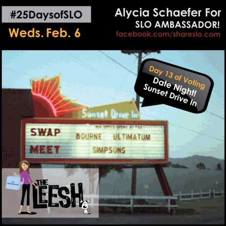 25 Days of SLO - Sunset Drive in