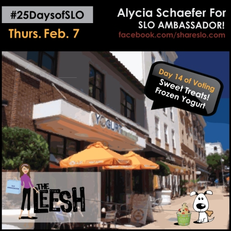 25 Days of SLO Frozen Yogurt Edition