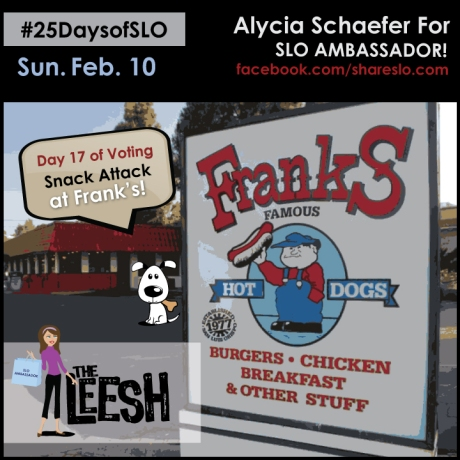 Snack Attack at Franks- 25 Days of SLO