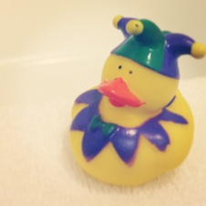 La Cuesta Inn - My rubber ducky!